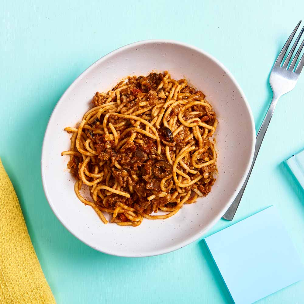 Last Night's Bolognese with Vetta Ready Pasta Classic Spaghetti